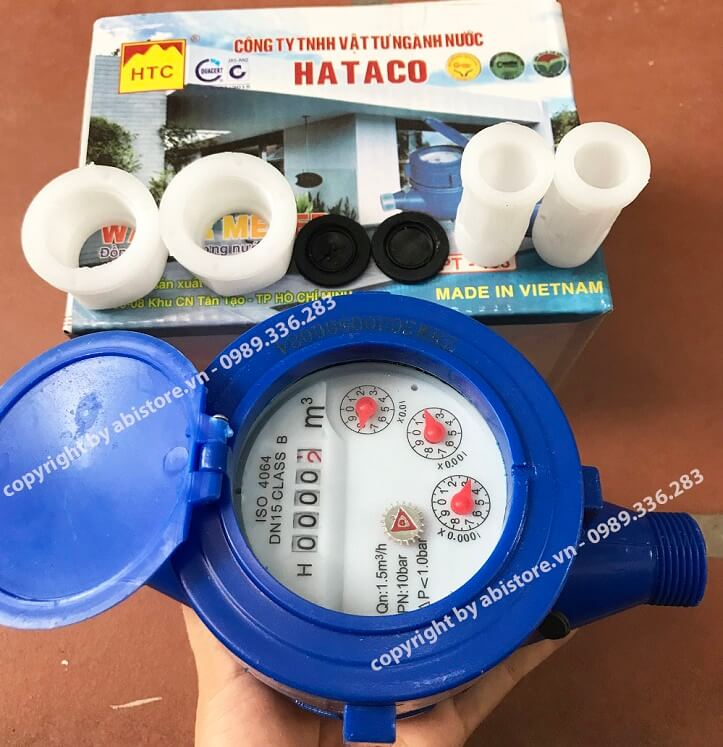 đồng hồ nước hataco