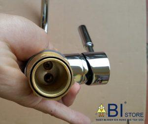 vòi rửa bát cần cứng nóng lạnh machiko 1