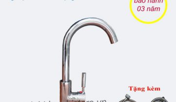 vòi rửa bát cần cứng nóng lạnh giá rẻ