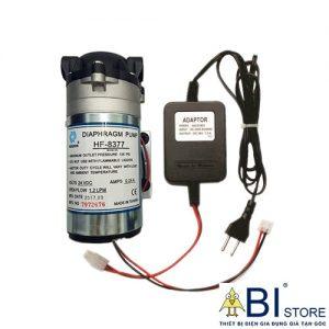 bơm máy lọc nước và đổi nguồn adapter