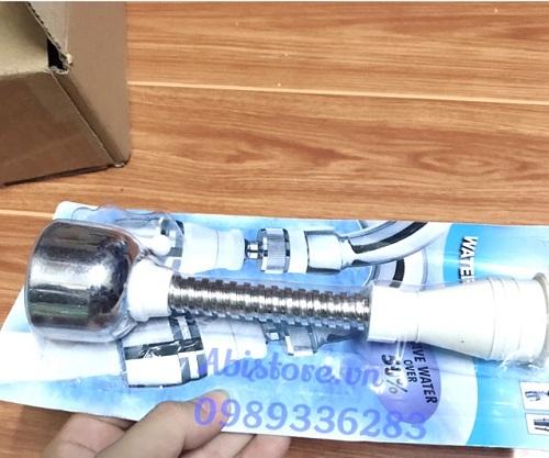 đầu nối vòi nước rửa chén bát xoay 360 5