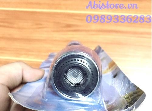 đầu nối vòi nước rửa chén bát xoay 360 1