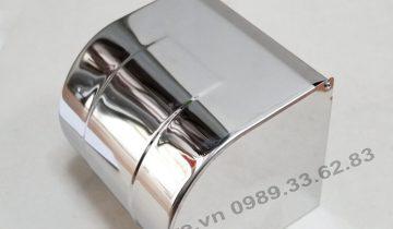 lô giấy vệ sinh inox 304