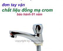 vòi rửa mặt đơn
