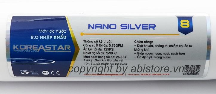 lõi lọc nano silver