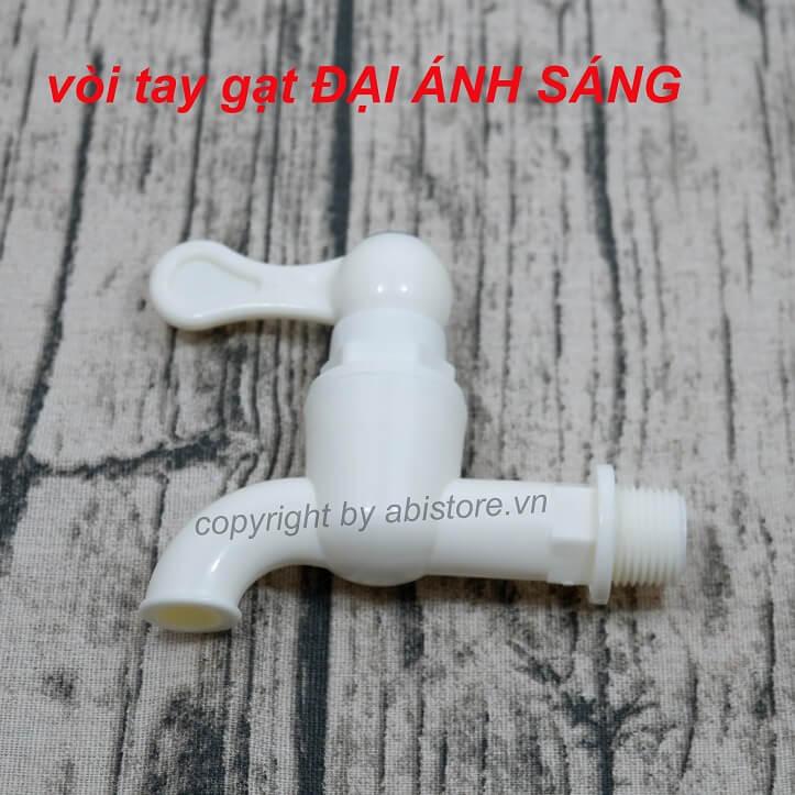 Vòi vườn, vòi nước nhà tắm nhựa ĐAS tay gạt