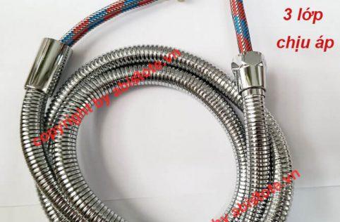 dây sen 3 lớp rút lõi sợi inox chịu áp 40 tầng 2