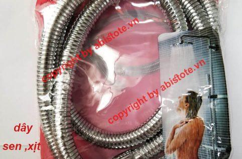 dây sen 3 lớp rút lõi sợi inox chịu áp 40 tầng