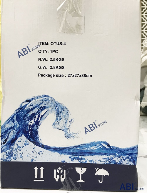 bình áp nhựa máy lọc nước 10l
